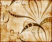 Vector Floral Tapestry, See Jpeg Also In My Portfolio