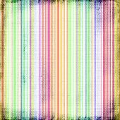 Colorful Grunge Faded Stripes