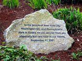 September 11th Stone Memorial