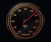 Speedometer vector illustration