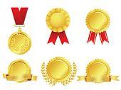 Awards icon set