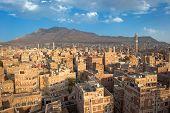 Panorama de Sanaa, Yemen
