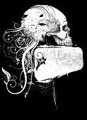 skull and frame