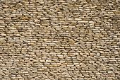 picture of fieldstone-wall  - wall made of stones - JPG