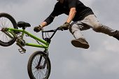 stock photo of moto-x  - A BMX  - JPG