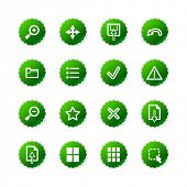 green sticker viewer icons