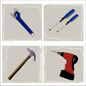 Tools For Carpenter Or Plumber