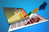 Marketing Business Sales Graph 34