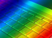 Rainbow Laptop