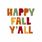 Happy Fall Yall poster
