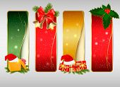 pic of polly  - Set of winter christmas backgrounds - JPG