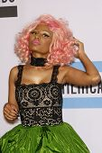 LOS ANGELES - NOV 20:  Nicki Minaj in the Press Room at the 2011 American Music Awards at Nokia Thea