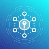 Encryption, Secure Access Vector Icon, Eps 10 File, Easy To Edit poster