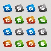 Cut Squares - File format icons