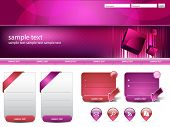 Modern editable website business template