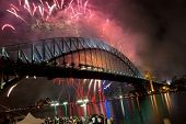 Sydney Harbour Bridge New Year Fireworks