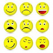 a set of emoticons