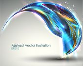 Fantastic Associative Modern Abstract Illustration. Vector Background. EPS 10.