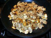Mushrooms Cooking poster