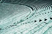 picture of epidavros  - Seats of ancient theatre - JPG