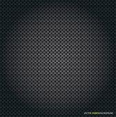 Black Vector Carbon Background Texture