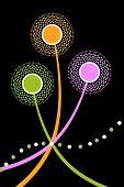 Dandelions Abstract