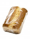 Sliced Bread in Plastic Wrap