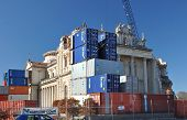 Christchurch Earthquake - Saving The Catholic Cathedral With Containers