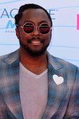 LOS ANGELES - JUL 22:  will.i.am arriving at the 2012 Teen Choice Awards at Gibson Ampitheatre on Ju