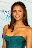 LOS ANGELES - JUL 22:  Nina Dobrev in the Press Room of the 2012 Teen Choice Awards at Gibson Ampith