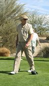 PALM SPRINGS - FEB 7: Chad Everett at the 15th Frank Sinatra Celebrity Invitational Golf Tournament