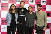 LOS ANGELES - JULY 25: Imagine Dragons at Billabong's 6th Annual Design For Humanity Event at Paramo