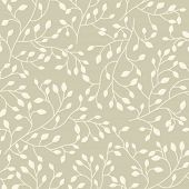 stock photo of pattern  - Seamless floral vector pattern - JPG