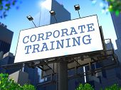 Corporate Training Concept.