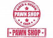 Pawn Shop-stamp