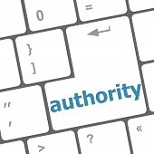Authority Enter Key And Keys Icon
