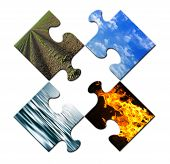 Four Elements Puzzle Open