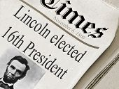Lincoln Elected 16Th Us President