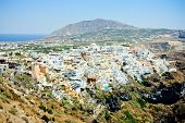 Thira - the capital of Santorini island