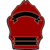 Fire Fighters Helmet Blank Sheild
