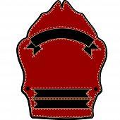 Fire Fighters Helmet Blank Sheild
