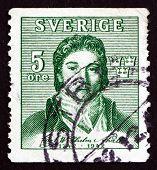 Postage Stamp Sweden 1942 Carl Wilhelm Scheele, Chemist