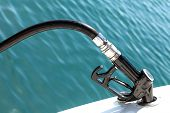 Diesel Pump Nozzle Refilling Boat