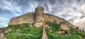 Fortaleza medieval de Akkerman perto de Odessa, Ucrânia