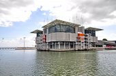 Lisbon - September 24: The Modern Oceanarium Building At Nations Park In Lisbon, Portugal On Septemb