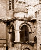 Fragment Of The Church Of The Holy Sepulchre