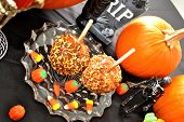 Halloween Candied Apples