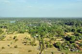 View of the Angkor area