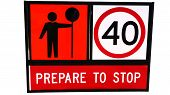 Prepare To Stop - Traffic Sign