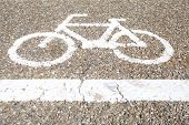 pic of pubic  - Bicycle sign - JPG